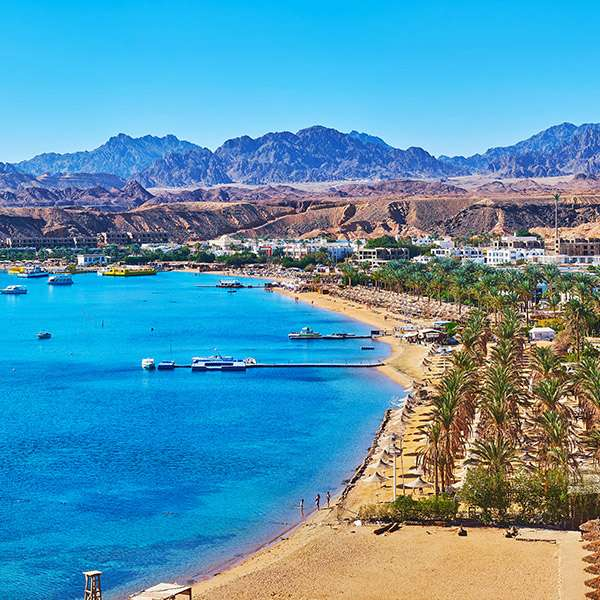 Predpoveď počasia Egypt - Sharm el-Sheikh