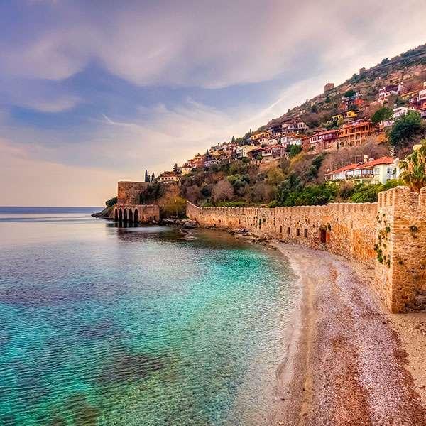 Predpoveď počasia Turecko - Antalya